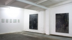 <p>Die Braut spricht (Society of Sweaty Palms)<br /><br /><br />2009<br />Exhibition view<br />Cruise & Callas</p>