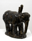 <p>Deathelephant<br /><br />2012<br />glazed ceramic<br />42 x 27,5 x 50,5 cm</p>