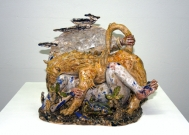 <p>Untitled (fantasy)<br /><br />2012<br />glazed ceramic<br />32,5 x 37,5 x 26,5 cm</p>