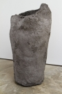 <p>Michele Di Menna</p><p> </p><p>Vessel (rock), 2013<br />paper-mâché, metal mesh, chicken wire<br />79 x 44 x 43 cm</p>