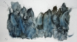 <p>Untitled<br /><br />2009 <br />Pigment on paper<br />150 x 270 cm <br />Cruise & Callas</p>