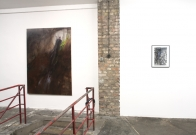 <p>Frauke Boggasch, HR Giger</p><p> </p><p>Exhibition view</p><p>Cruise & Callas</p>